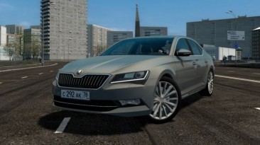 "City Car Driving ""Skoda Superb 2017 (B8) (v1.5.9 - 1.5.9.2)"""