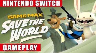 Видео игрового процесса обновленной Sam & Max Save the World
