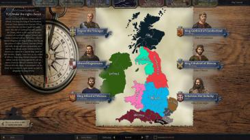 """Crusader Kings 3 """"Последнее Королевство: Сделай правильный выбор"""""""