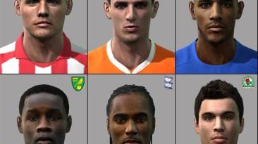 "PES 2011 ""EPL facepack"""
