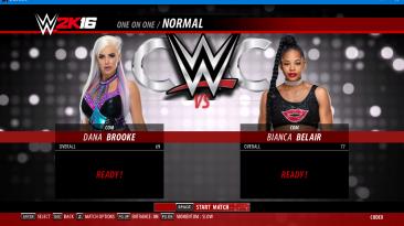 "WWE 2K16 ""Dana Brooke WWE 2K18 порт мод"""