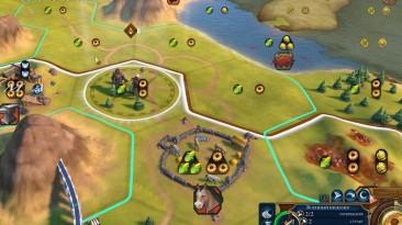 """Sid Meier's Civilization 6 """"Военный инженер строит дороги продвигаясь по земле"""""""