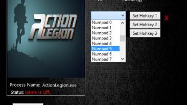 Action Legion: Трейнер/Trainer (+3) [1.0.3] {MrAntiFun}