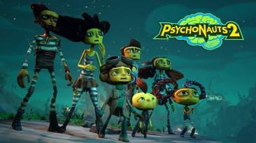 Сюжетный трейлер и 17 минут геймплея Psychonauts 2