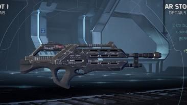 "Mass Effect: Andromeda ""N7 Assault Rifle Weapon Mods"""