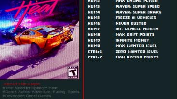 Need for Speed: Heat: Трейнер/Trainer (+12) [1.0.59.46514] {FutureX}