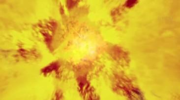 Большой взрыв во вселенной