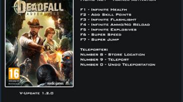 Deadfall Adventures: Трейнер/Trainer (+9) [1.2.0] {LinGon}