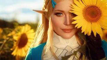 Косплей на принцессу Зельду из The Legend of Zelda: Breath of the Wild