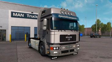 "Euro Truck Simulator 2 ""MAN F2000 + Прицеп v6.0 (1.39.x)"""