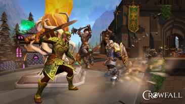 Европейская версия Crowfall получила обновление с новым игровым миром, новым типом врагов и многим другим