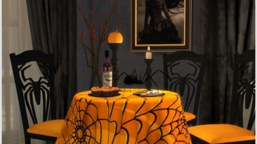 """The Sims 4 """"Halloween dining"""""""