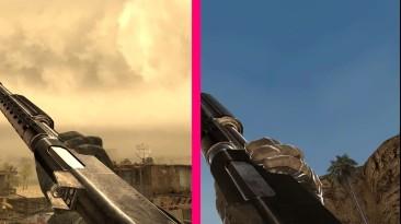 COD MW vs Modern Warfare 2 - сравнение анимации стрельбы