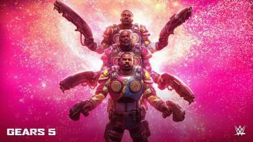 В Gears 5 добавят звёзд рестлинга в качестве играбельных персонажей