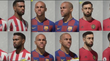 """FIFA 20 """"Facepack by BR7"""""""