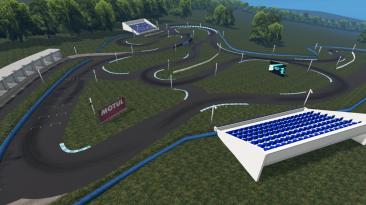 "BeamNG.drive ""Карта Simply Sideways Motor park v1.0 (0.23.5)"""