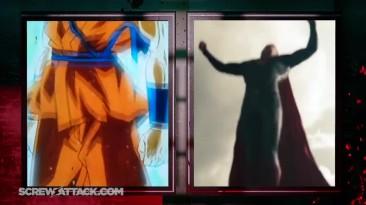 Goku vs. Superman. Бой насмерть - Реванш!