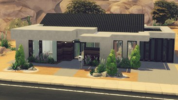 "The Sims 4 ""Дом Sand Modern"""