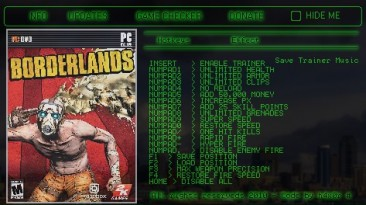 Borderlands: Трейнер (+15) [1.41] {h4x0r}