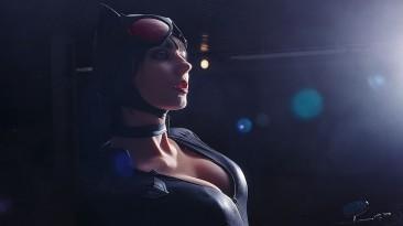 Алена Сысуева в роли Женщины-кошки из Batman: Arkham City