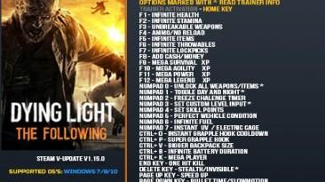 Dying Light: The Following: Трейнер/Trainer (+35) [1.15.0] {LinGon}