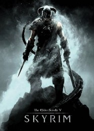 Обложка игры The Elder Scrolls 5: Skyrim
