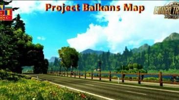 "Euro Truck Simulator 2 ""Проект Балканы v5.1 (v1.40.x)"""