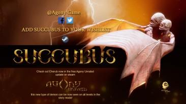 Новый трейлер Succubus от создателей Agony