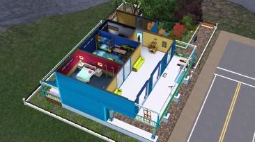 The Sims 3: Сохранение/SaveGame (Дом с Семьей / A Family House)