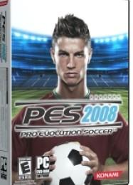 Обложка игры Pro Evolution Soccer 2008