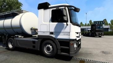 "Euro Truck Simulator 2 ""Звук для Mercedes Actros MP3 (1.40)"""