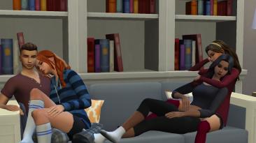 "The Sims 4 ""Плеер поз"""