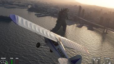 "Microsoft Flight Simulator ""Годзилла"""