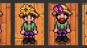 "Stardew Valley ""Мод Цветочная соломенная шляпа"""