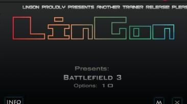 Battlefield 3: Трейнер/Trainer (+10) [1.0: D2D/Retail] {LinGon}