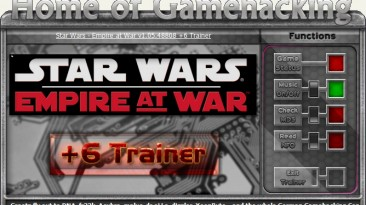 Star Wars - Empire at War: Трейнер/Trainer (+6) [1.05.48808] {sILeNt heLLsCrEAm/HoG}