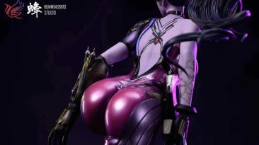 Анонсирована полностью обнажающаяся фигурка Роковой вдовы из Overwatch