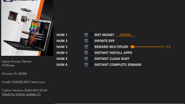 PC Building Simulator: Трейнер/Trainer (+6) [1.11] {FLiNG}