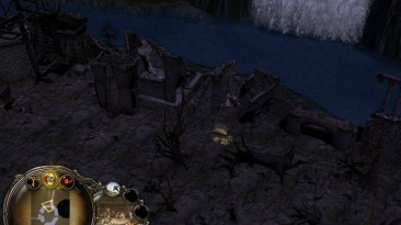 """Lord of the Rings: BFME II The Rise of the Witch-king """"Карта - River Outpost"""""""