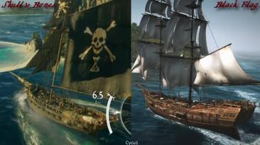Skull and Bones vs AC4 Black Flag: Сравнение графики