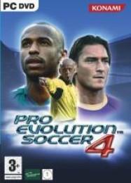 Обложка игры Pro Evolution Soccer 4
