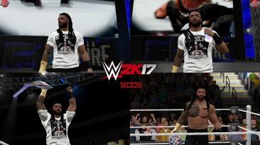 "WWE 2K17 ""Roman Reigns SmackDown 17.09.2021 Наряд (Лицевая анимация) WWE 2K19 Порт Мод"""