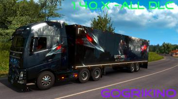 Euro Truck Simulator 2: Сохранение/SaveGame (Всё есть, всё открыто, 100% дорог) [ALL DLC] [1.40.X.X]