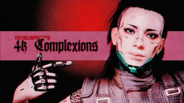 "Cyberpunk 2077 ""4К тон кожи"""