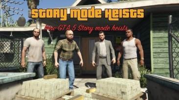 "GTA 5 ""Story Mode Heists [.NET] 0.8.0"""