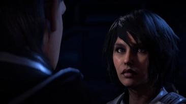 "Mass Effect: Andromeda ""Новая брюнетка Сара Райдер"""