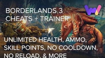Borderlands 3: Трейнер/Trainer (+43) [UPD: 15.09.2019] {MrAntiFun / WeMod}