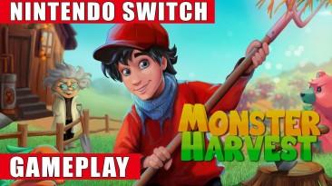 Игровой процесс симулятора фермера Monster Harvest