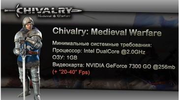 "Chivalry: Medieval Warfare ""Оптимизация для слабых ПК"""