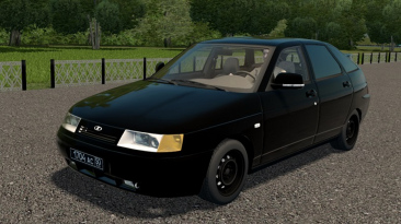 "City Car Driving ""Ваз 21124 2007 v1.1 (v1.5.9.2)"""